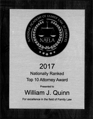 Nationally Ranked Top 10 Attorney Award